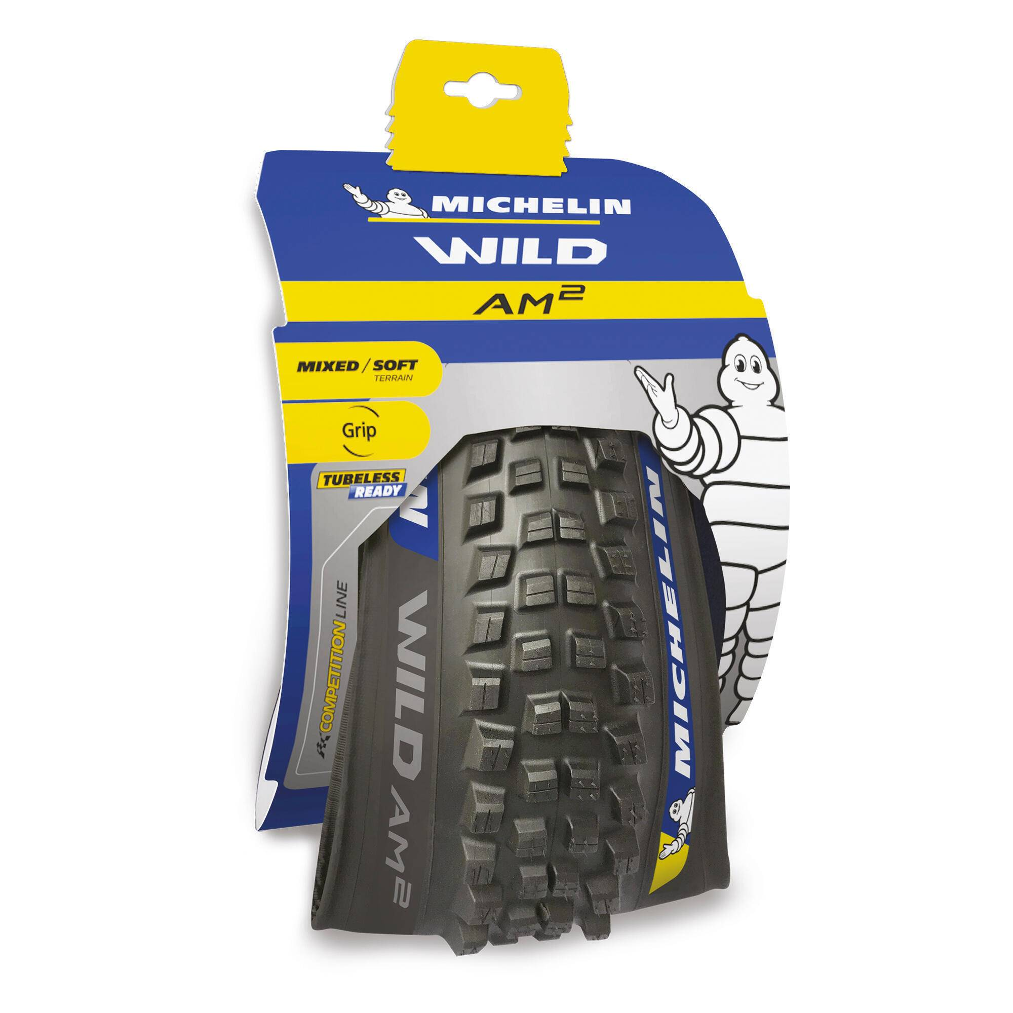 Michelin Copertone  MTB WILD AM2 COMPETITION LINE 29 x 2,4 Tubeless Ready