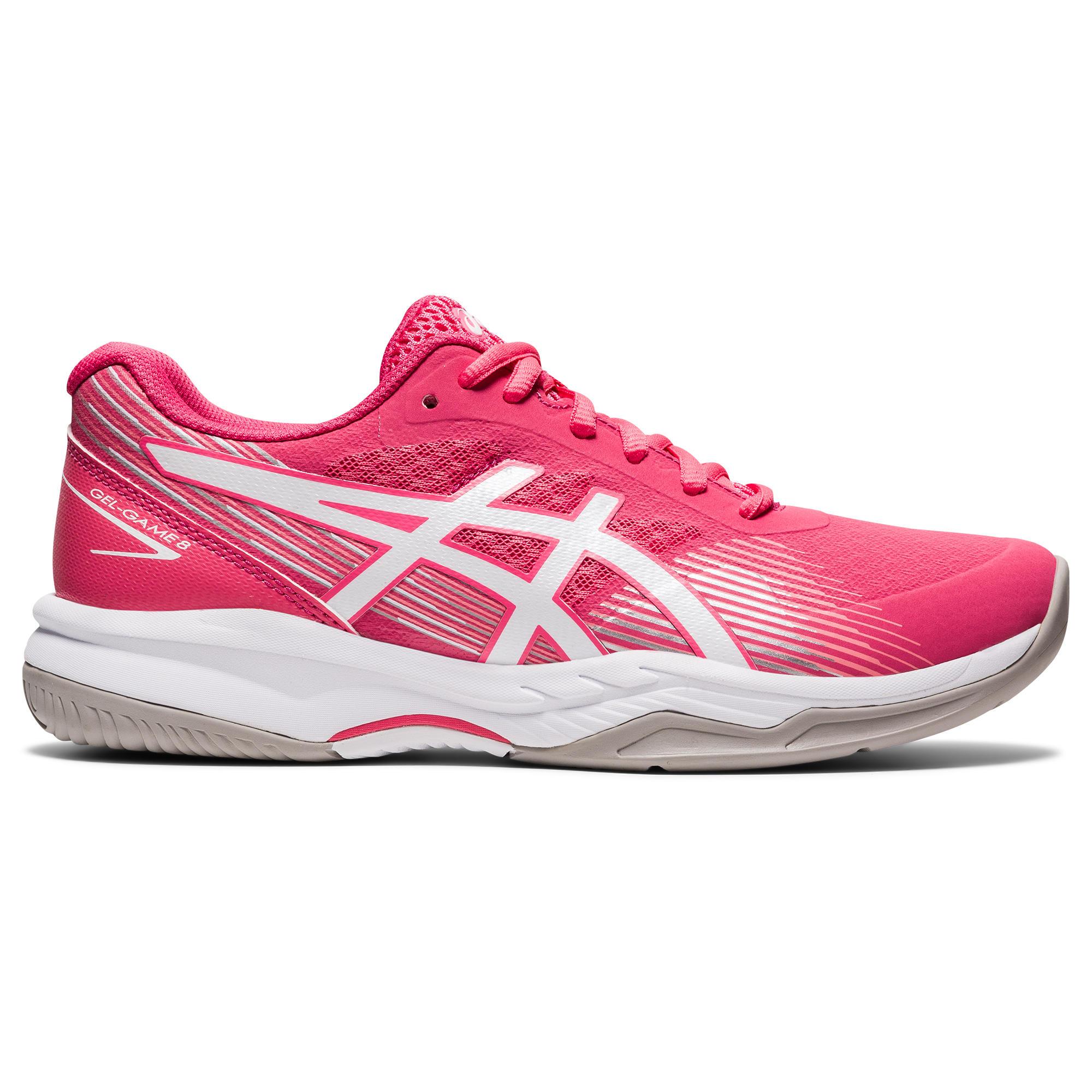 Asics Scarpe tennis donna GEL GAME 8 rosa-bianco