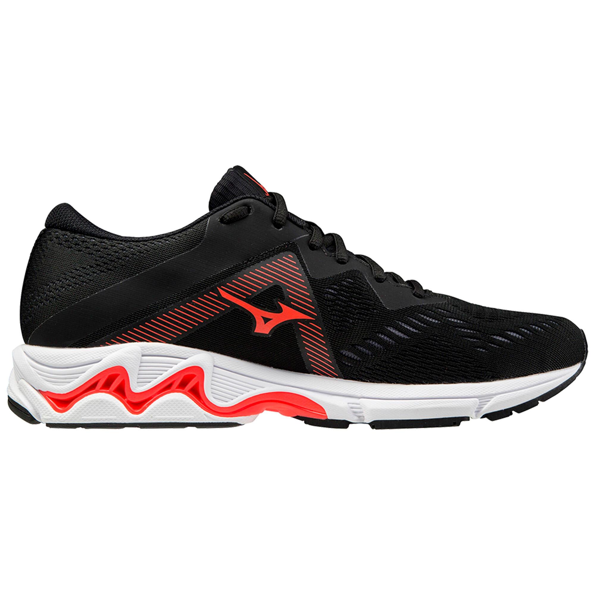 mizuno scarpe running uomo equate 5 nere rosse