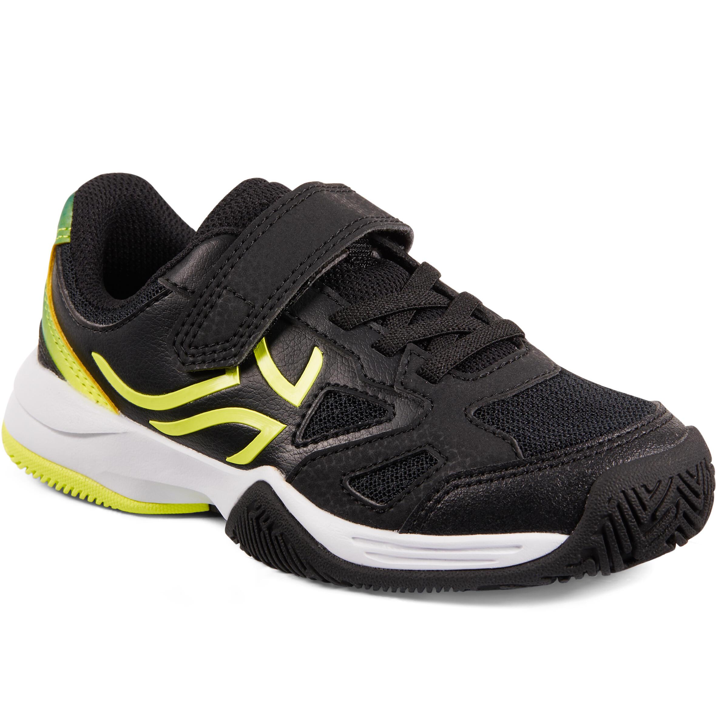 ARTENGO Scarpe tennis bambino TS560 nero-giallo