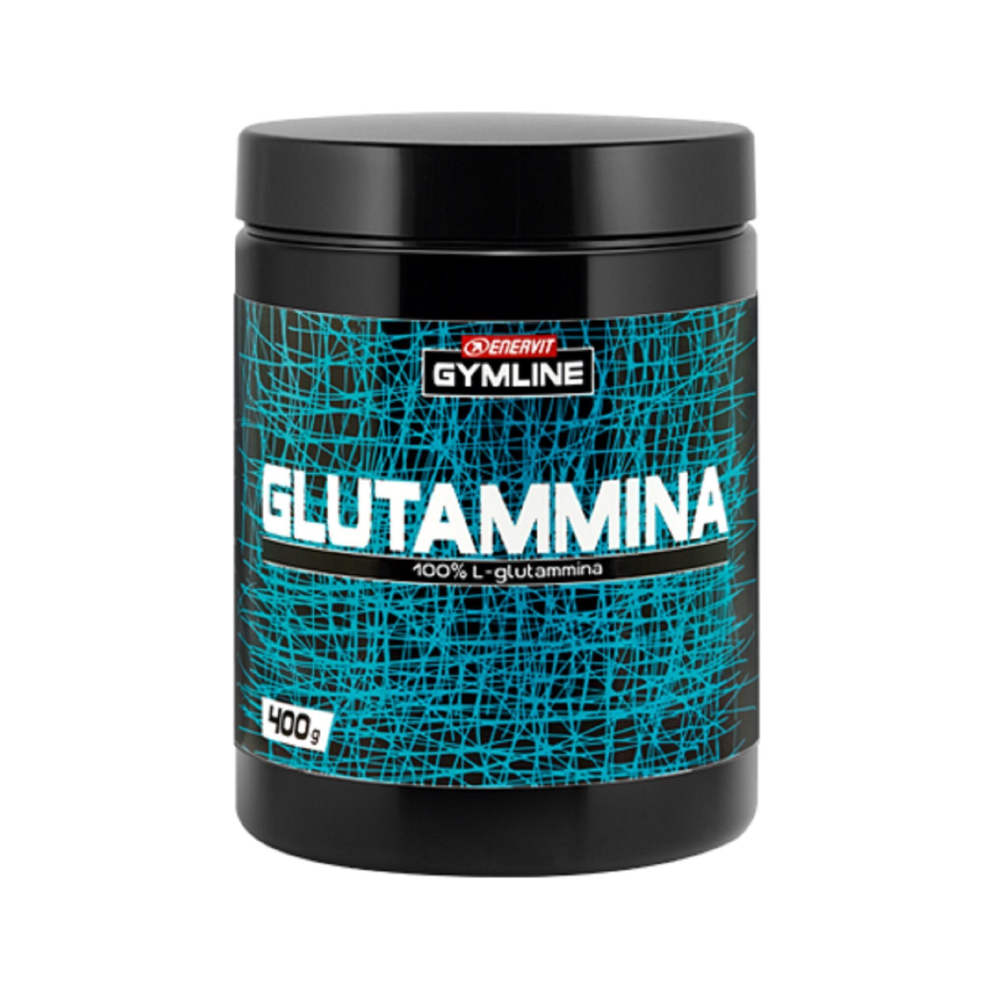 Enervit Glutammina in polvere Gymline Muscle L-glutammina 100% Gusto neutro 400g