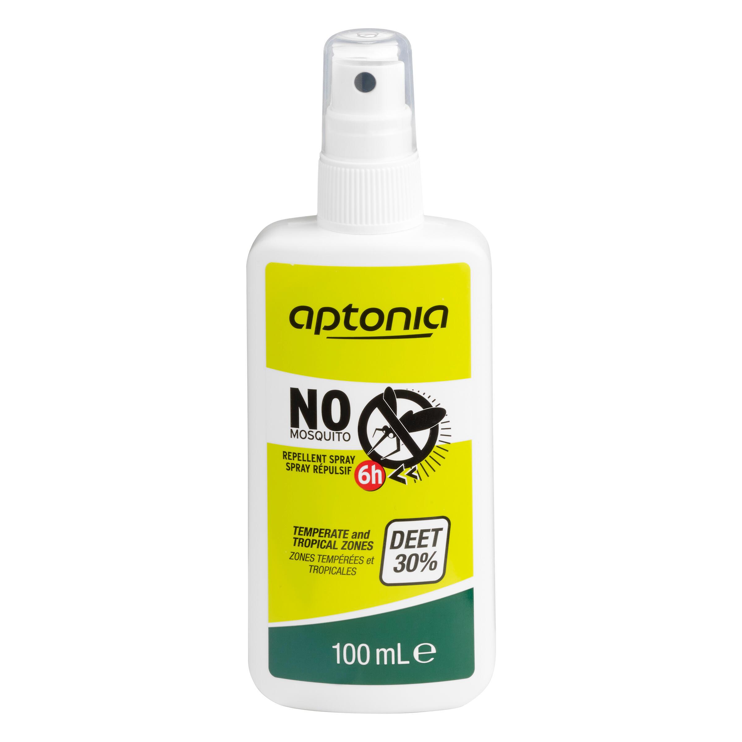 forclaz antizanzare deet 30% - 100 ml.