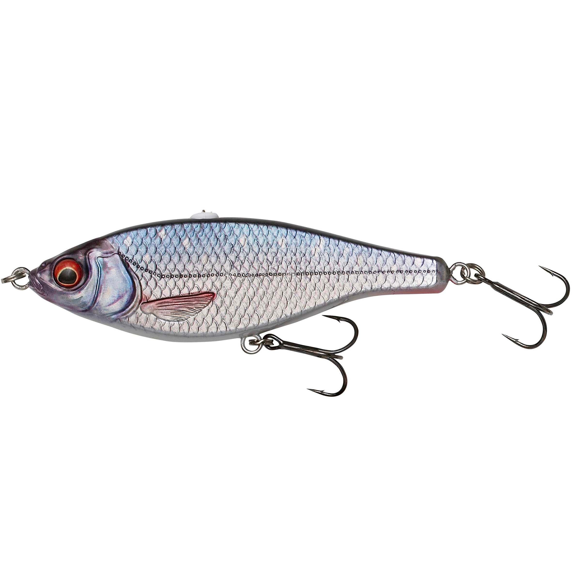 savage gear minnow pesca artificiali luccio 3d roach jerkster - 14.5 roach