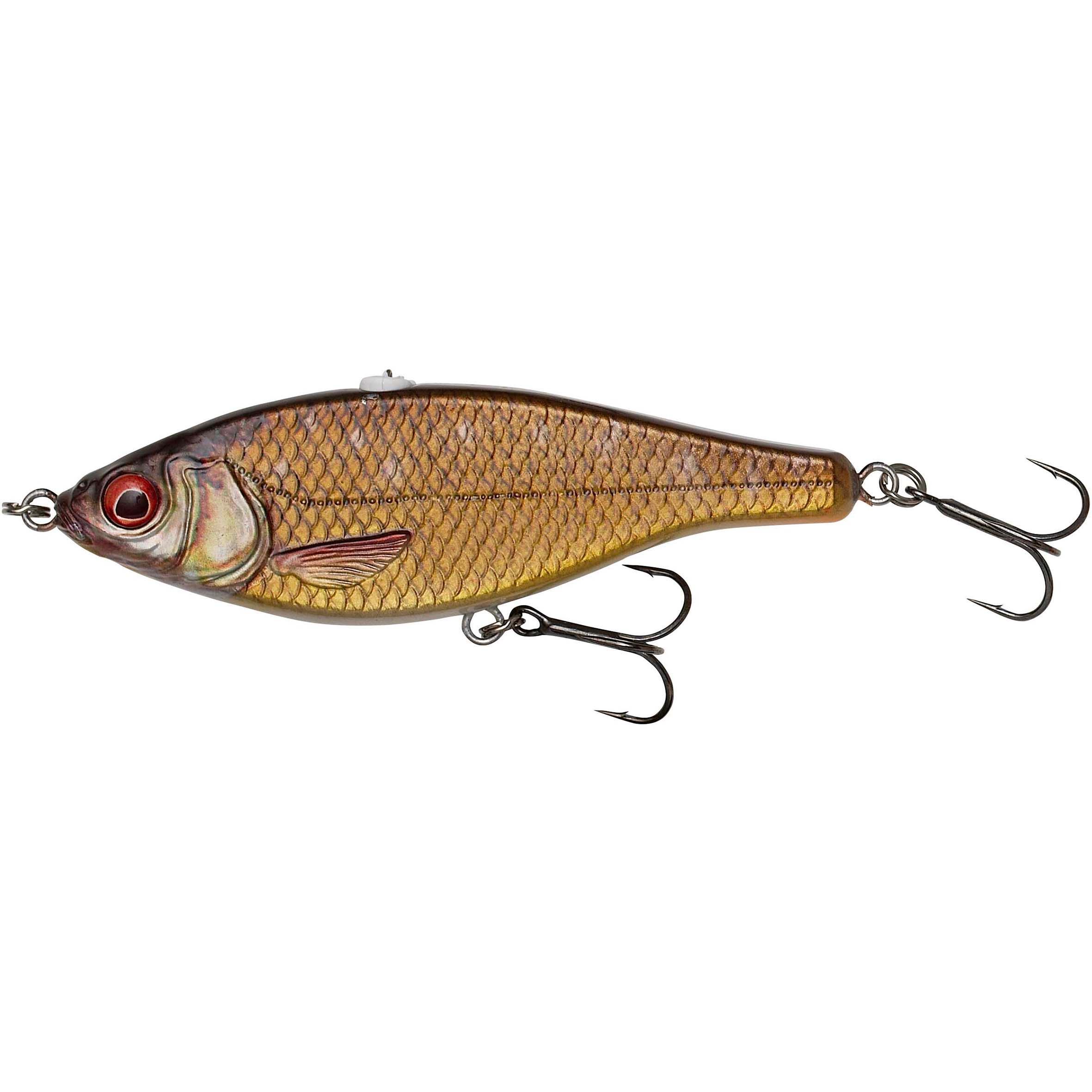 savage gear minnow pesca artificiali luccio 3d roach jerkster - 14.5 gf