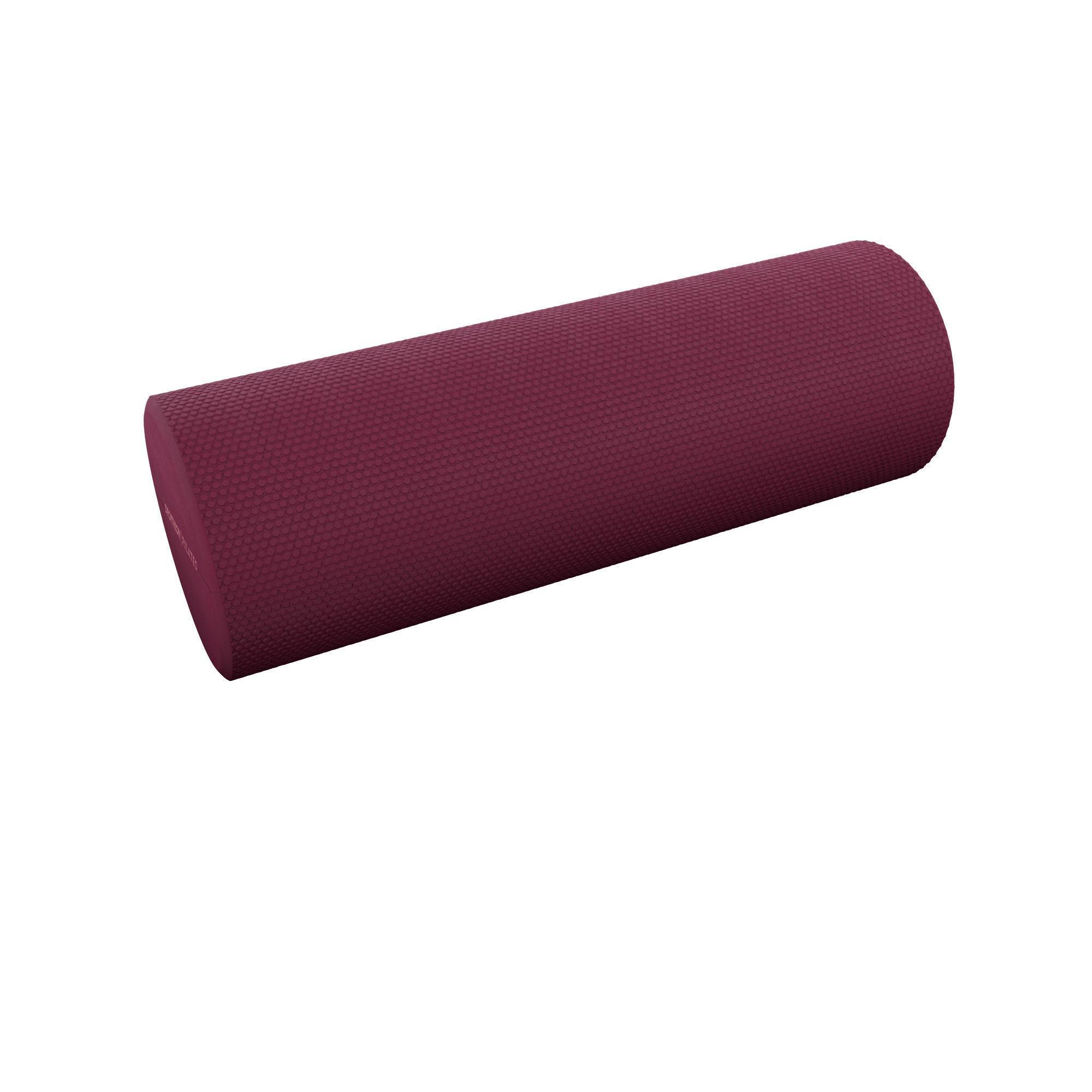 nyamba rullo pilates mini foam roller bordeaux 38cm