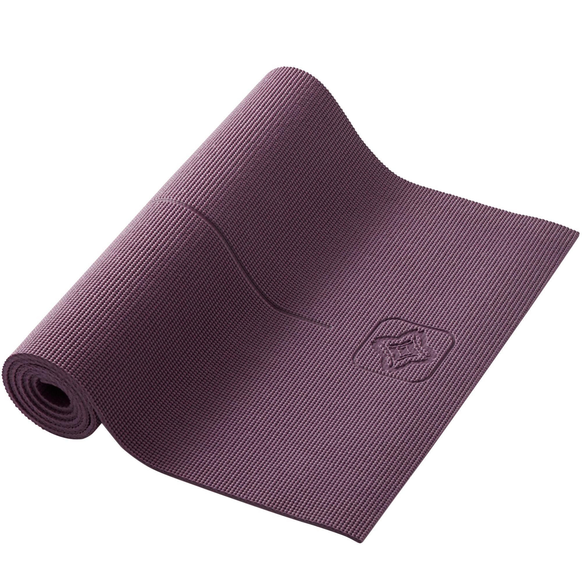kimjaly tappetino yoga comfort bordeaux 173x61x0,8cm