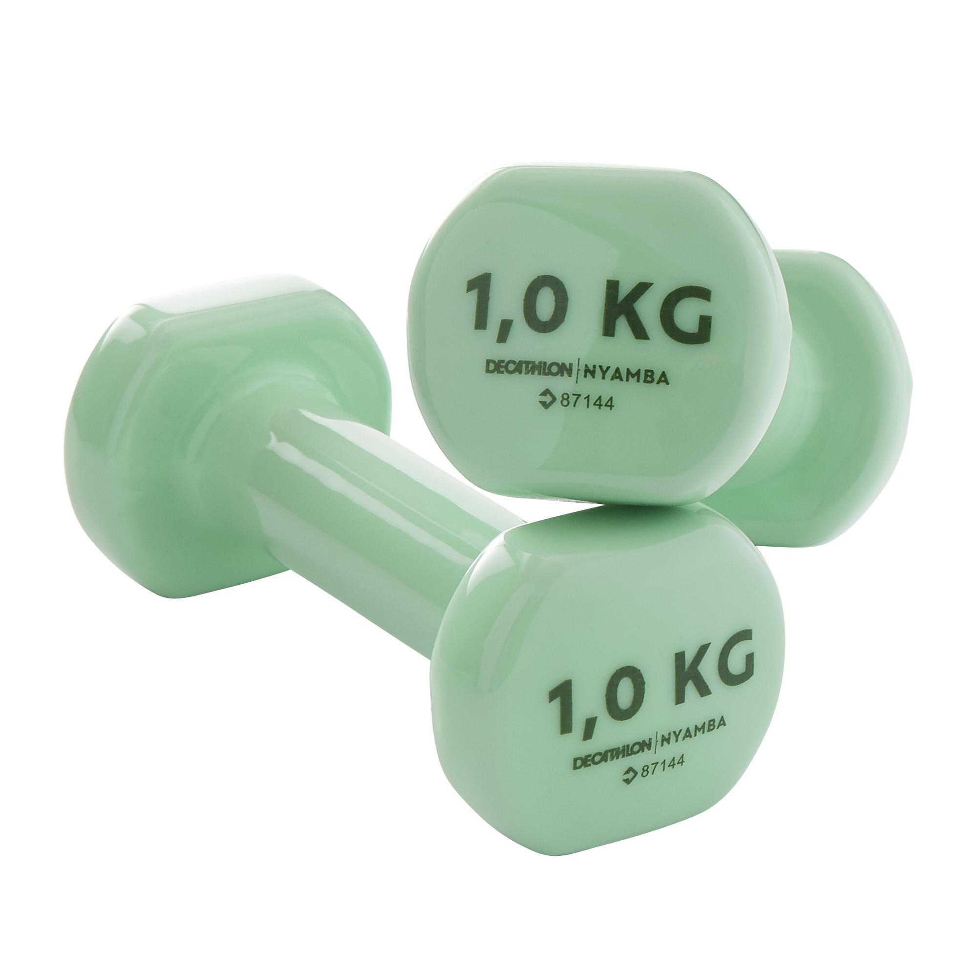 nyamba manubri pvc 2*1 kg verdi