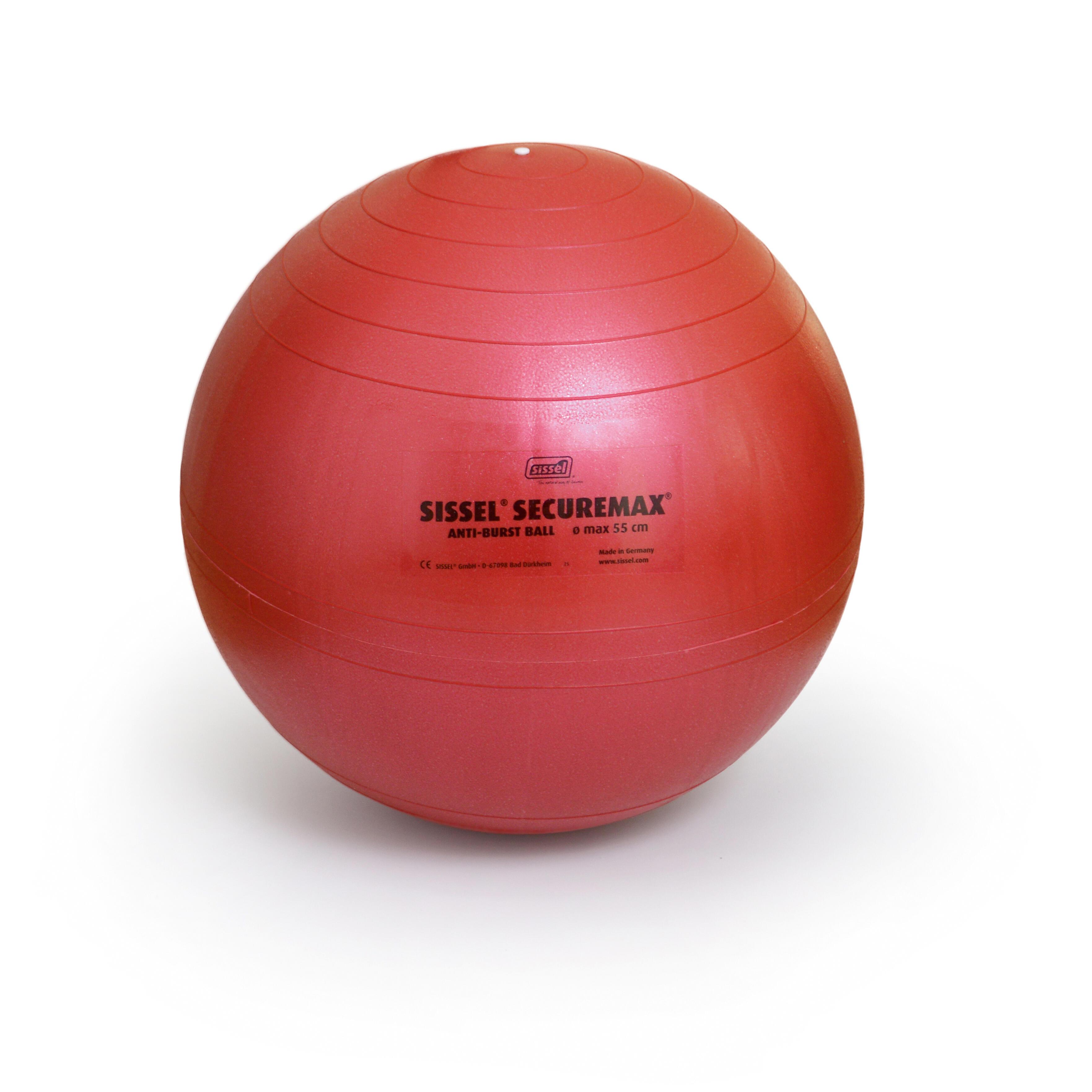 sissel fitball  taglia 1 55cm rossa