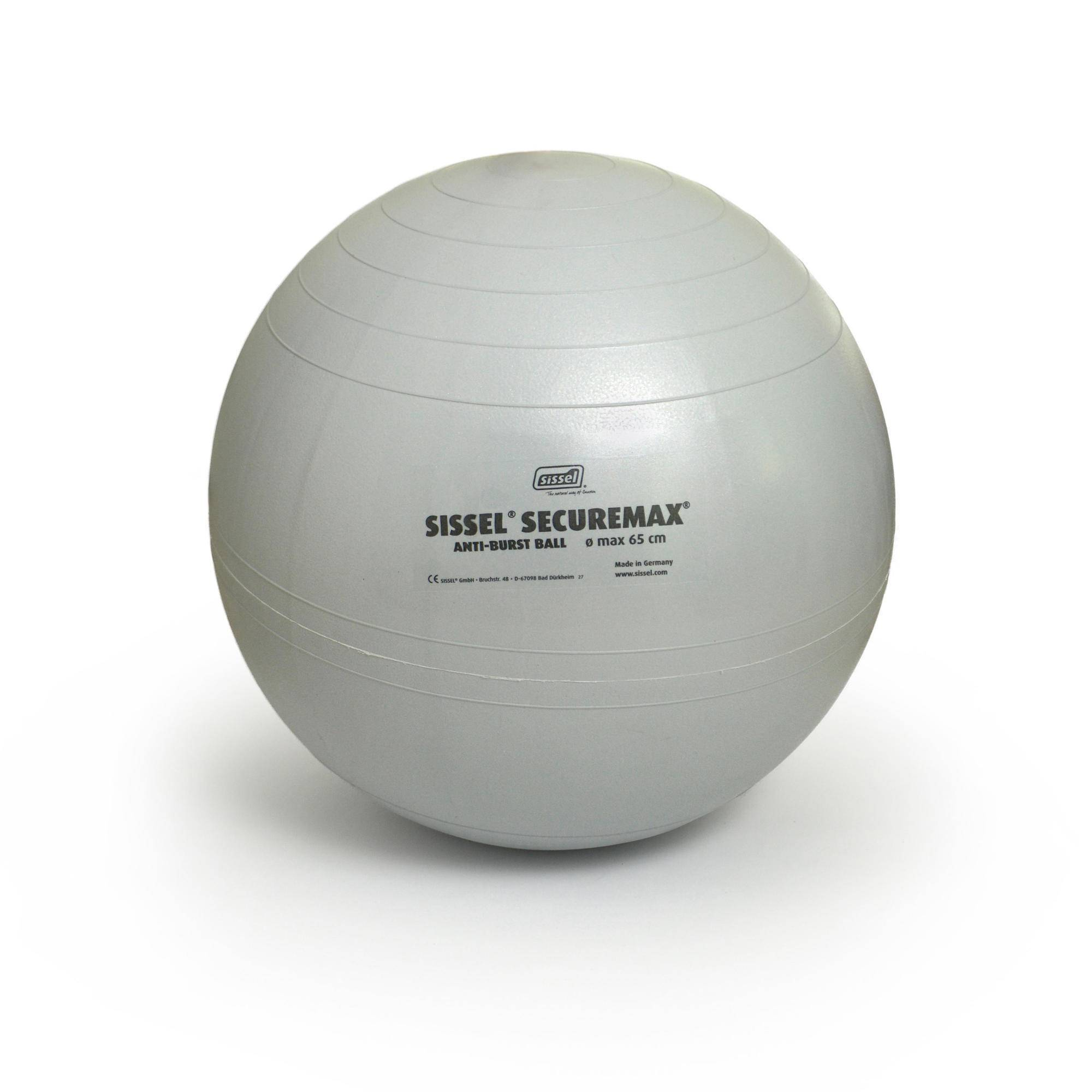 sissel fitball  65 cm grigia