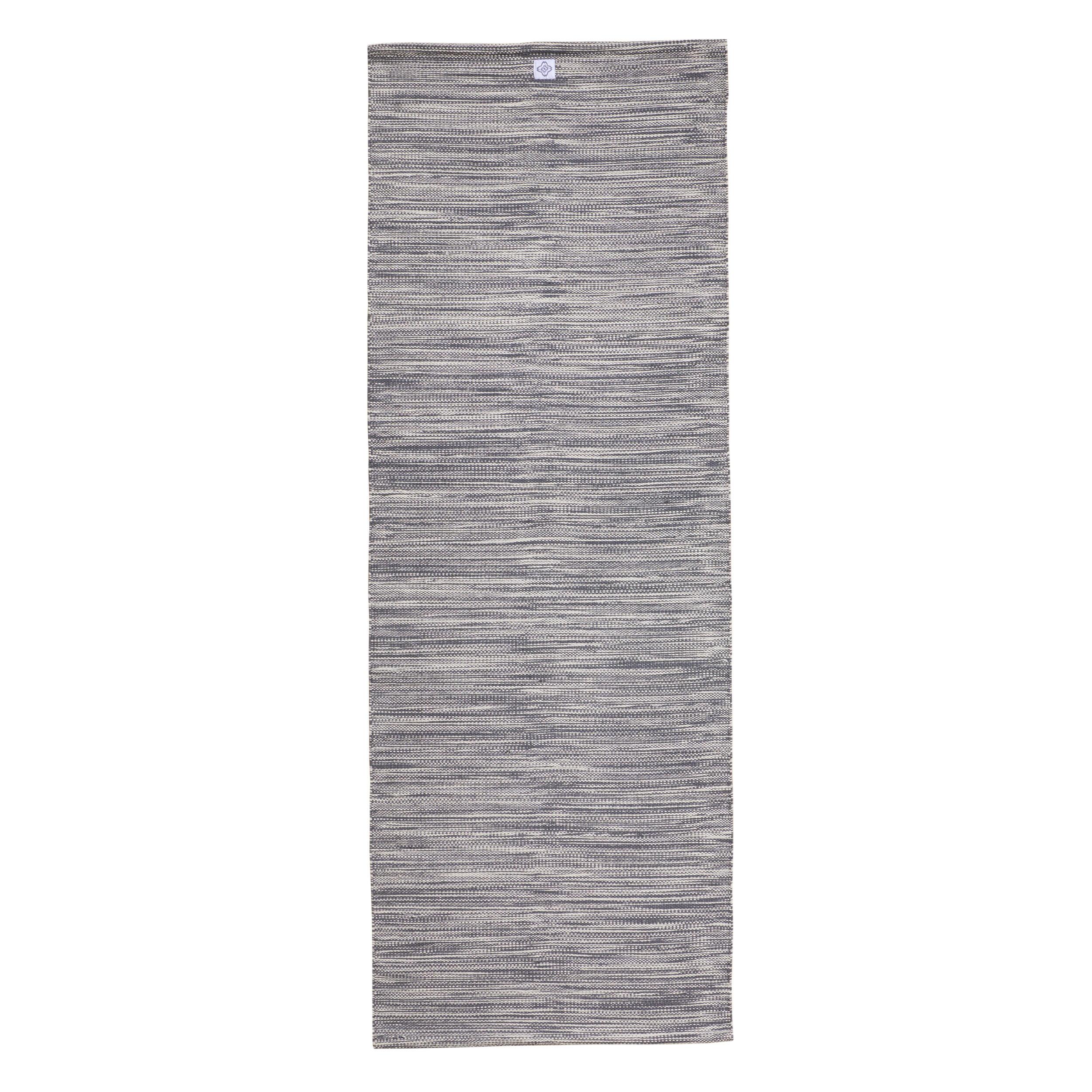 kimjaly tappetino yoga cotone grigio melange 189x69x0,4cm
