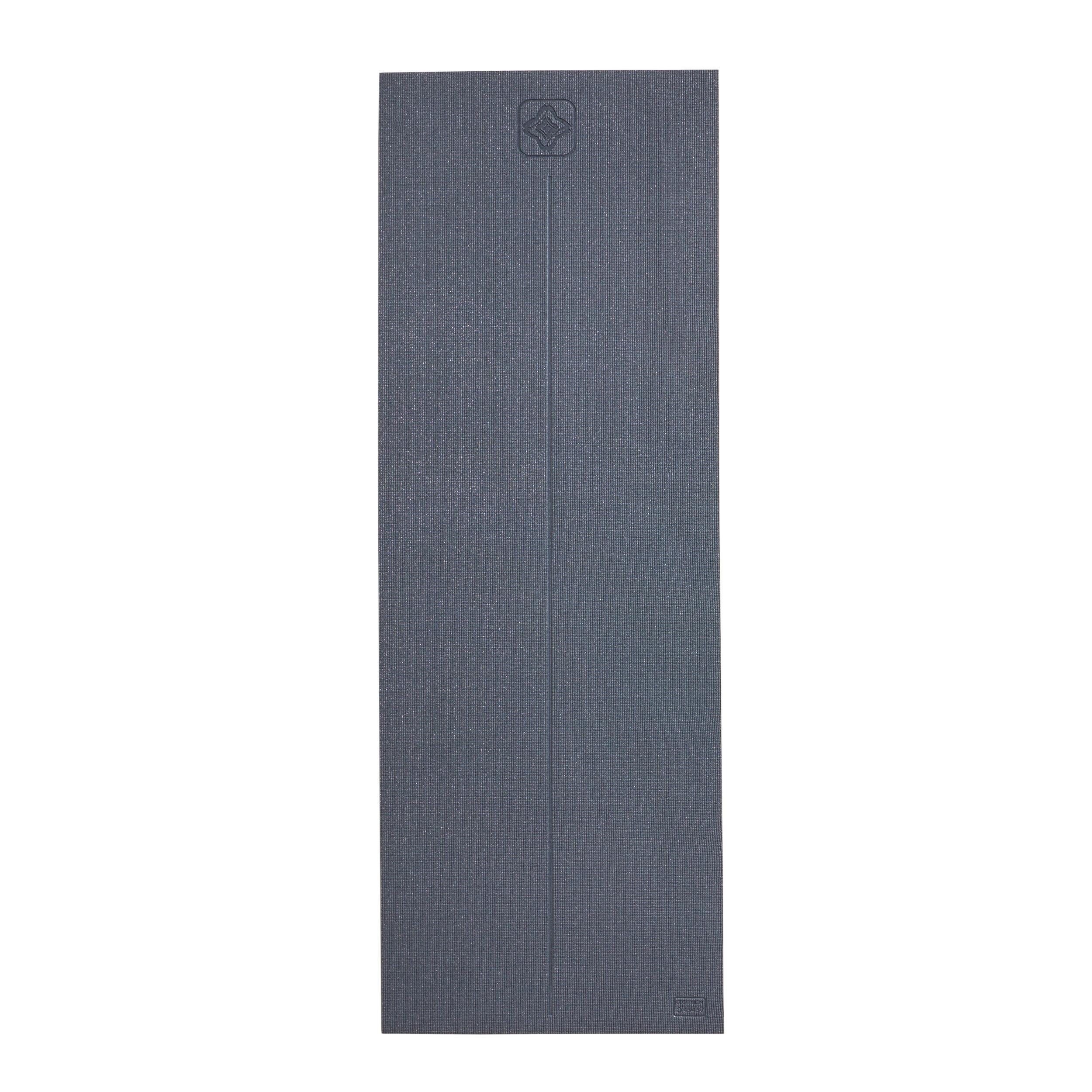 kimjaly tappetino yoga comfort 8 mm grigio 173x61cm