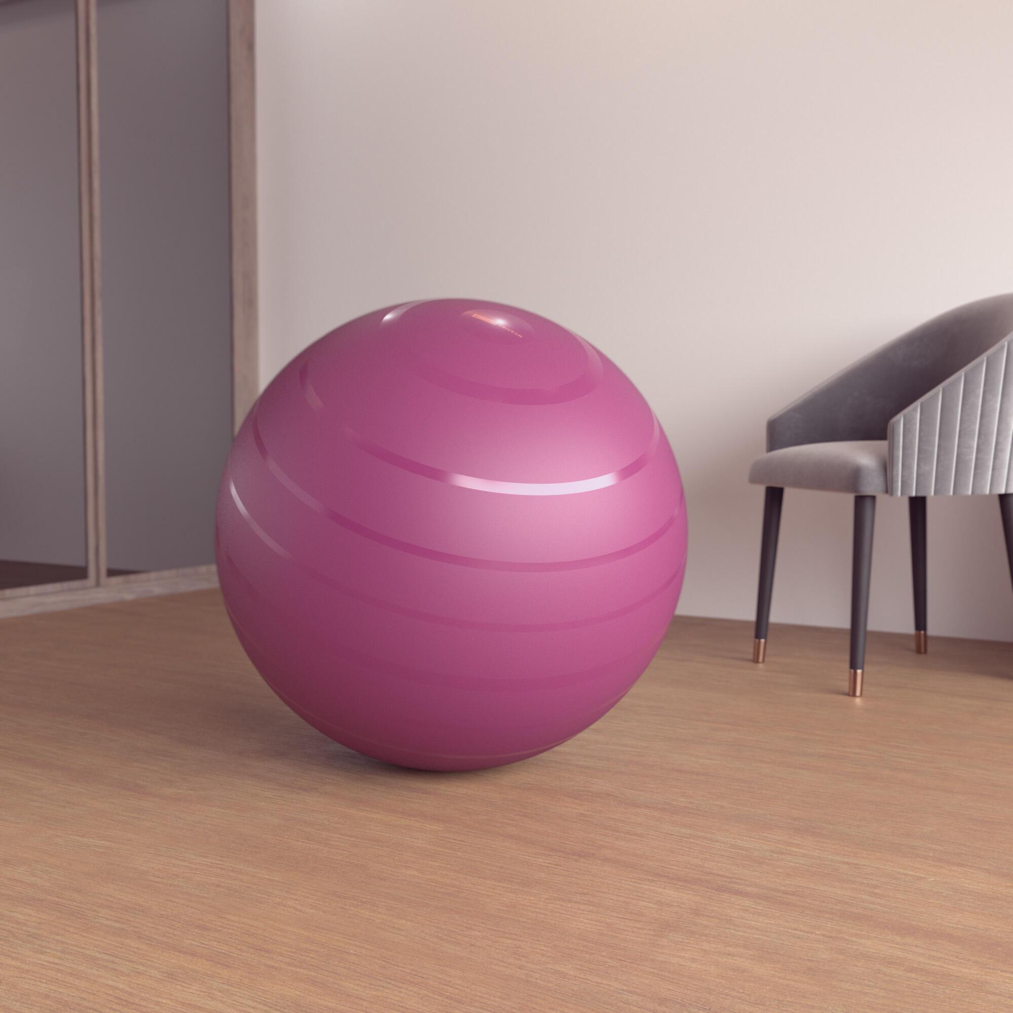 nyamba fitball taglia l 75 cm bordeaux