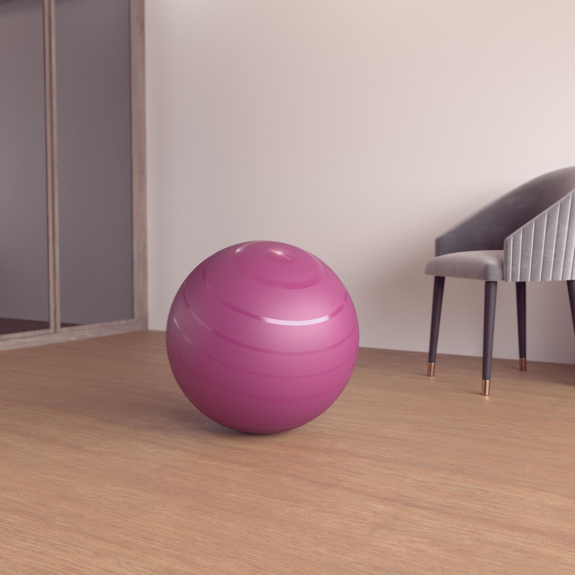 nyamba fitball taglia s 55cm bordeaux