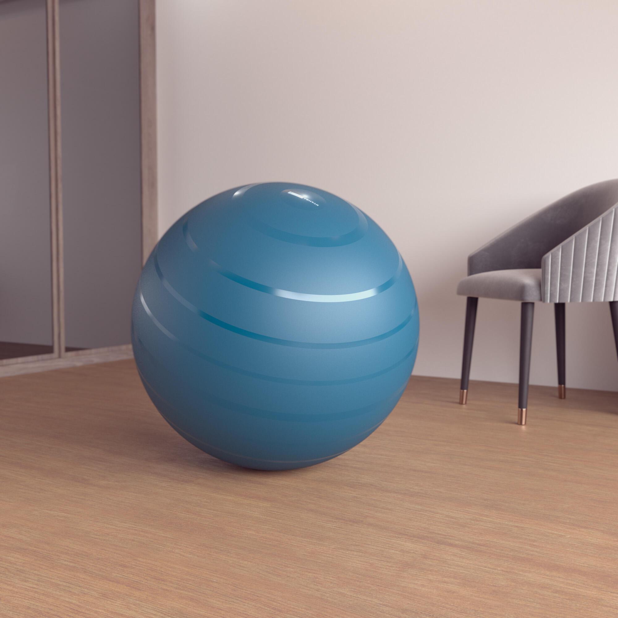 nyamba fitball taglia l 75cm azzurra