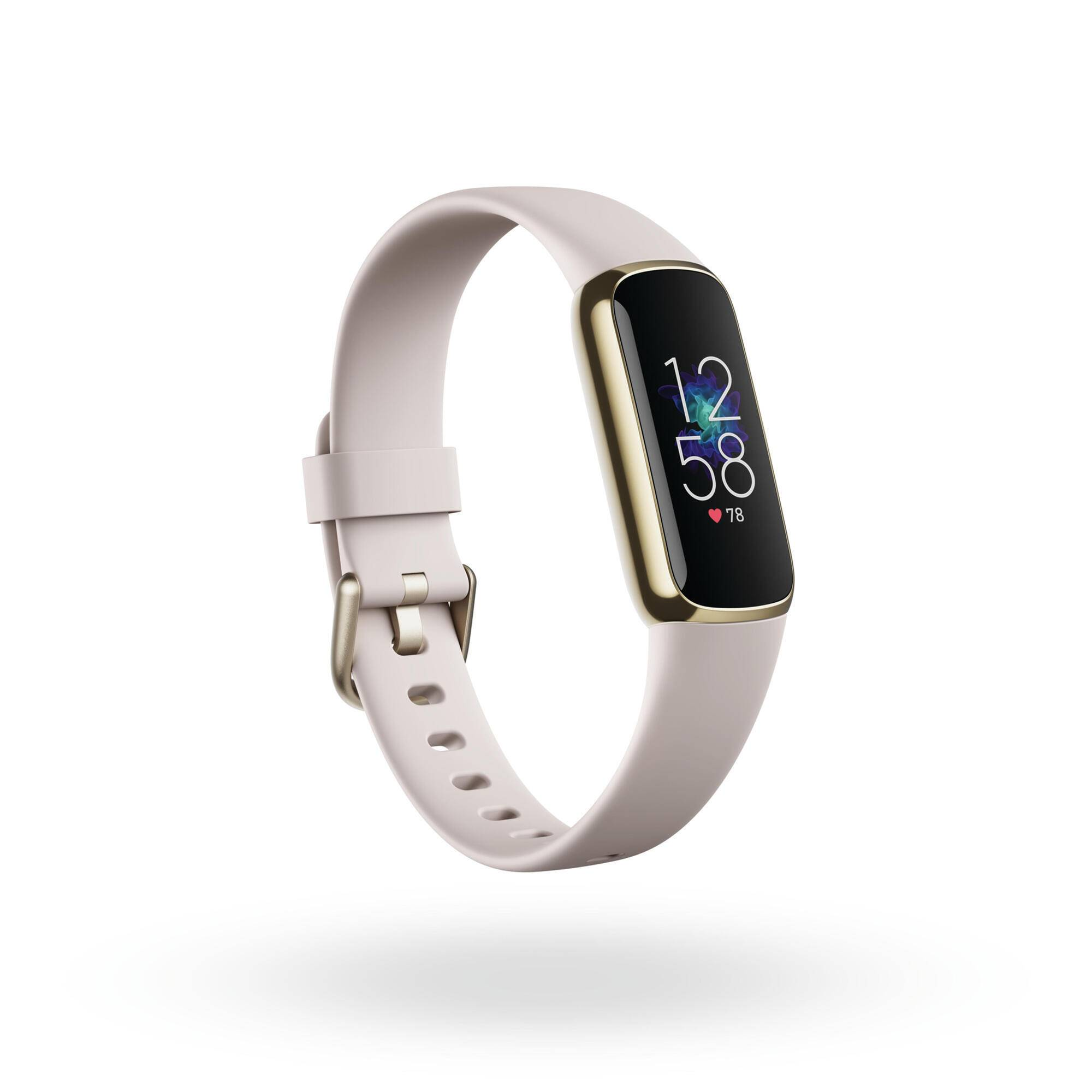 fitbit activity tracker  luxe oro-bianco
