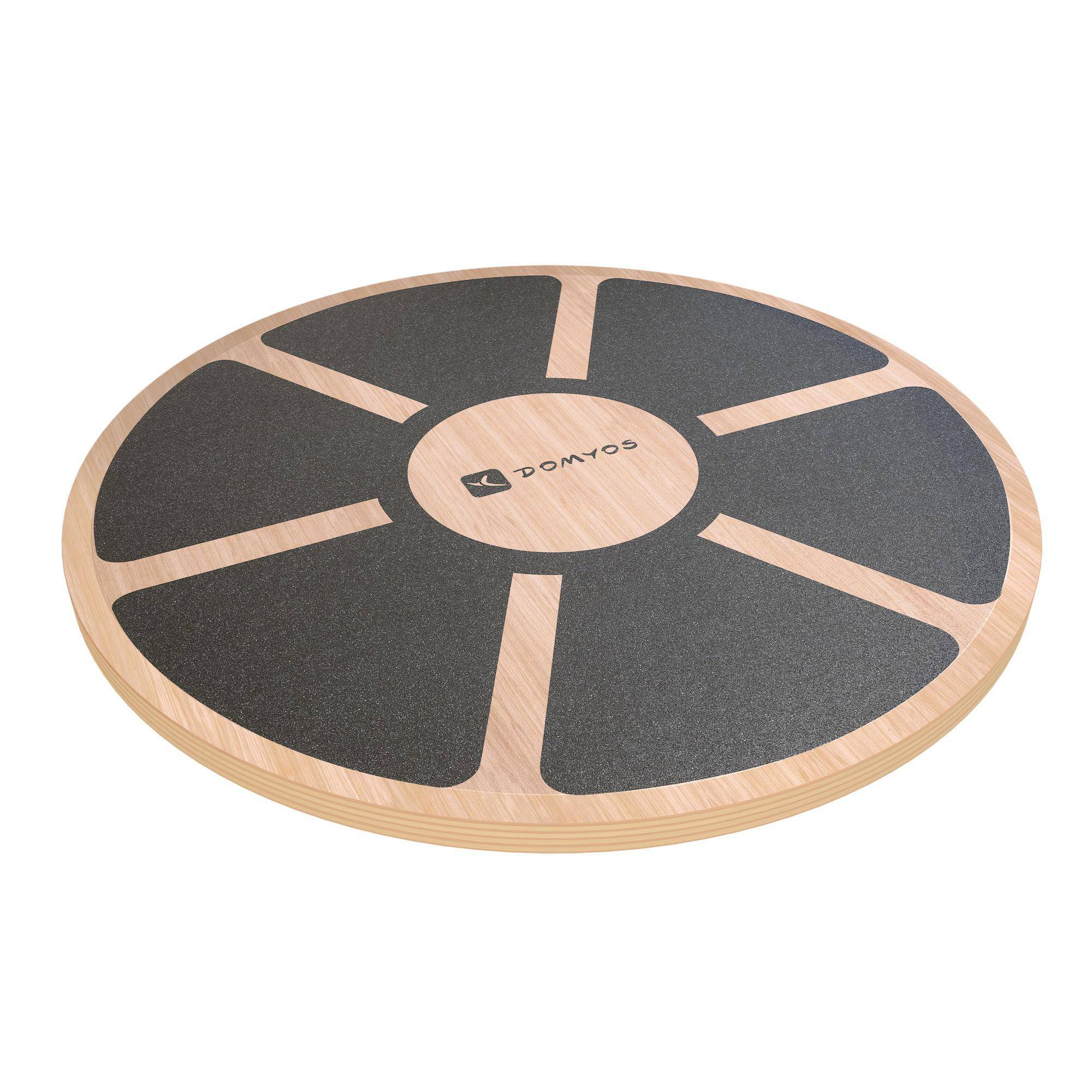 NYAMBA Attrezzo BALANCE BOARD 500 in legno - diametro 39,5cm altezza 7,5cm