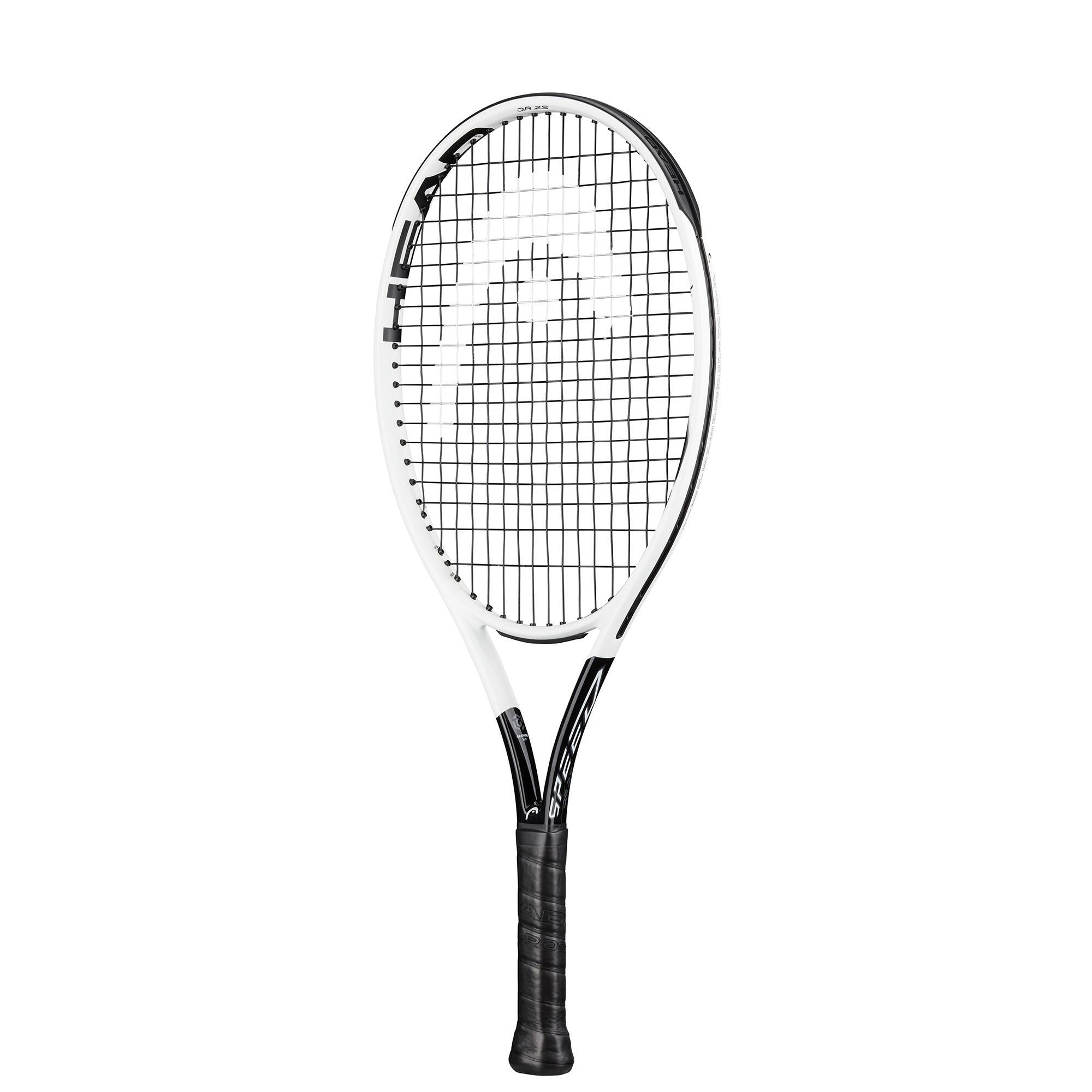 head racchetta tennis bambino graphene 360+ speed 25 bianco-nero
