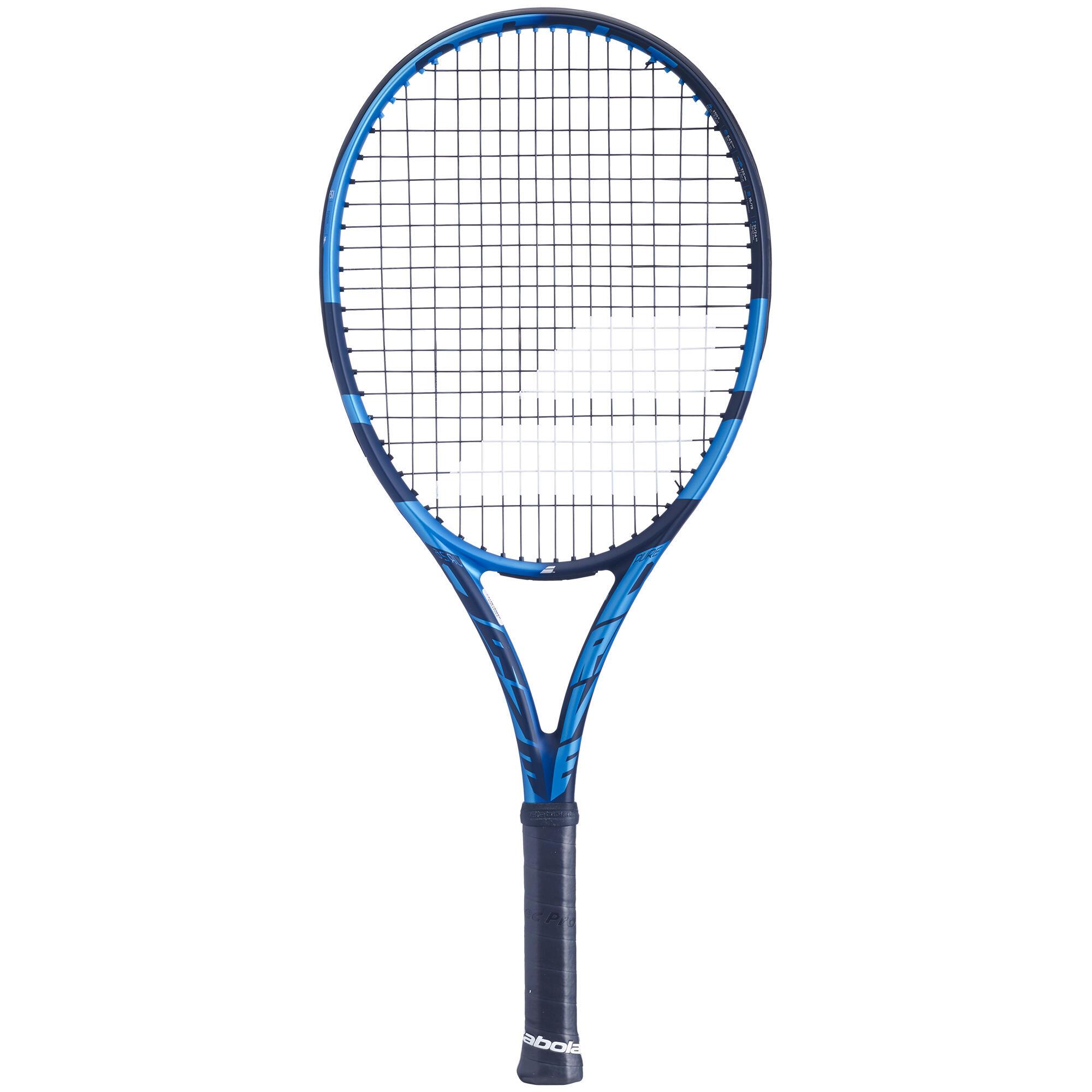 babolat racchetta tennis bambino pure drive 26 azzurro-nero