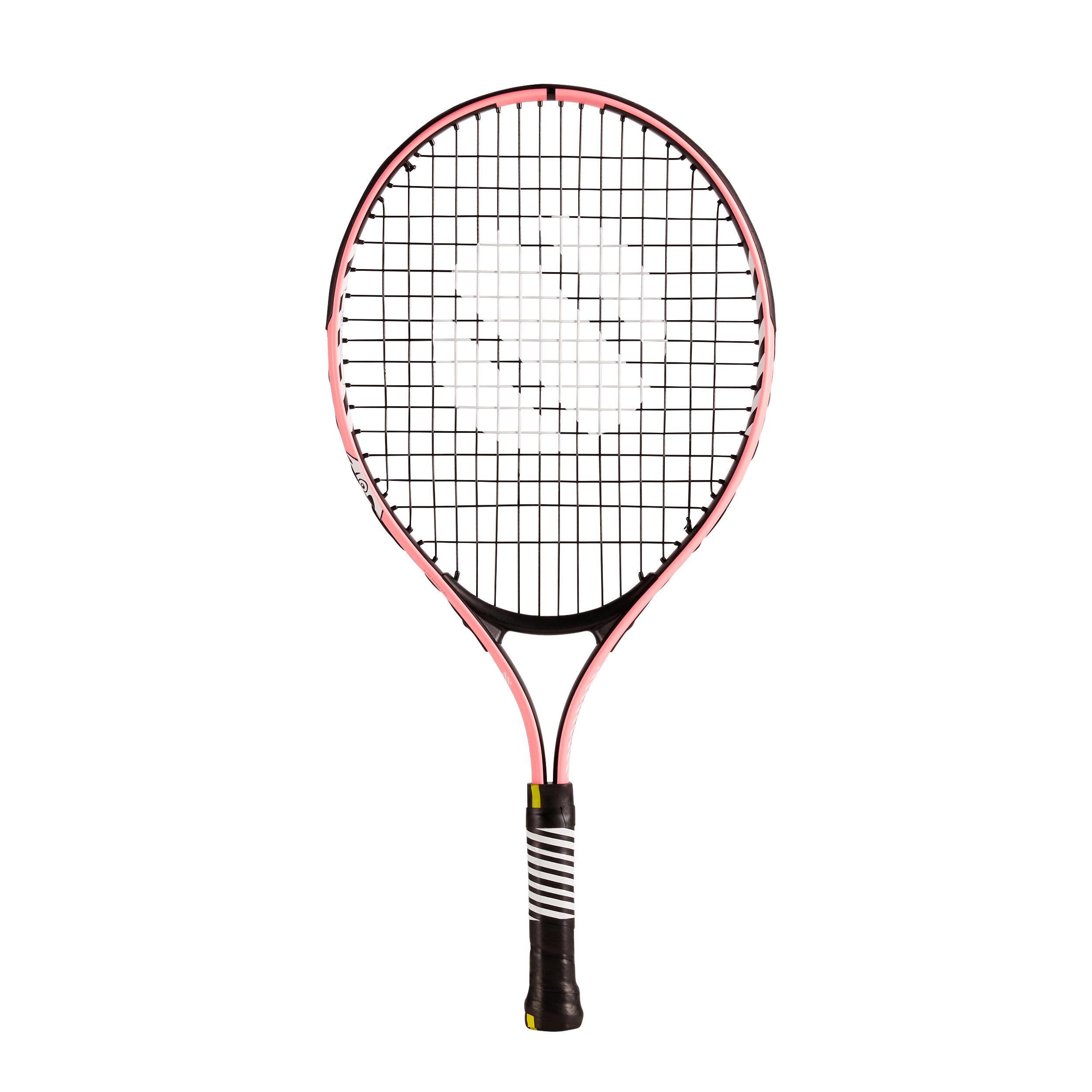 "artengo racchetta tennis bambino tr130 21"" rosa"
