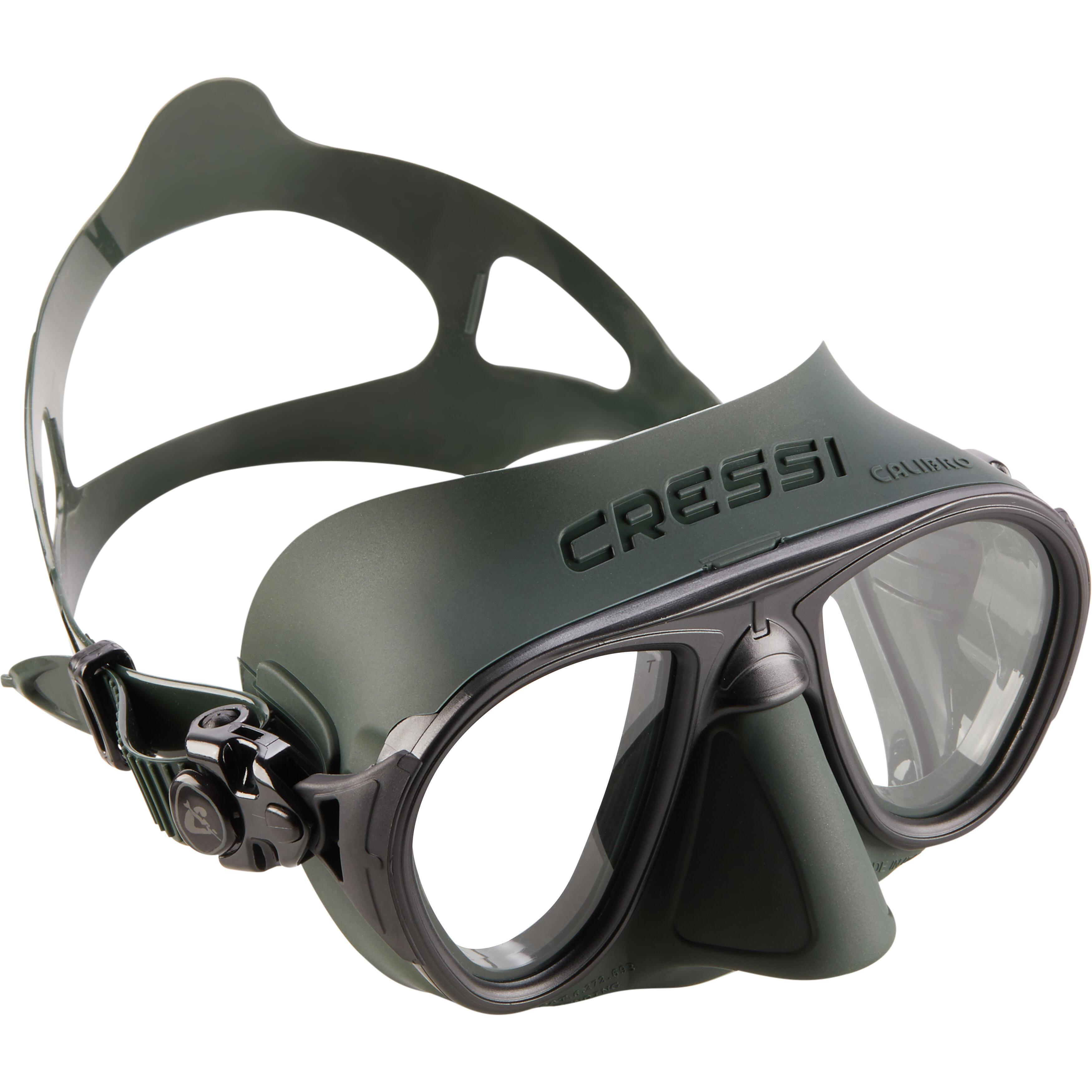 cressi maschera pesca subacquea calibro