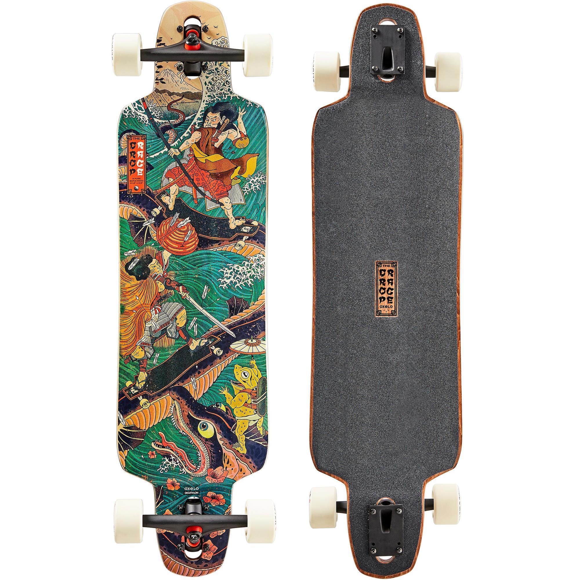 oxelo longboard free520 japan