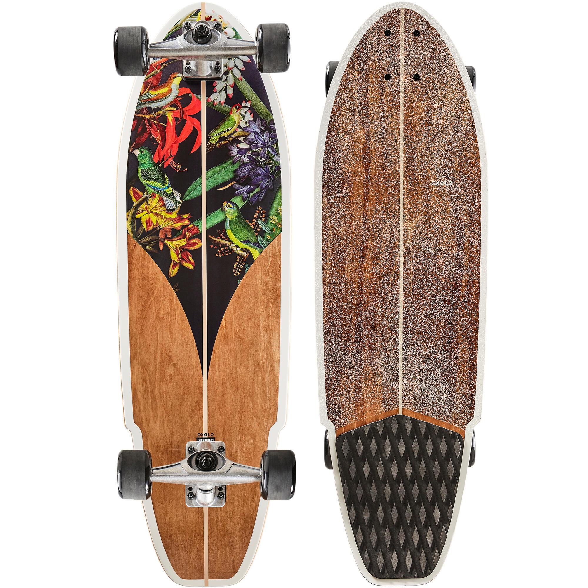 oxelo longboard surfskate carve 540 bird