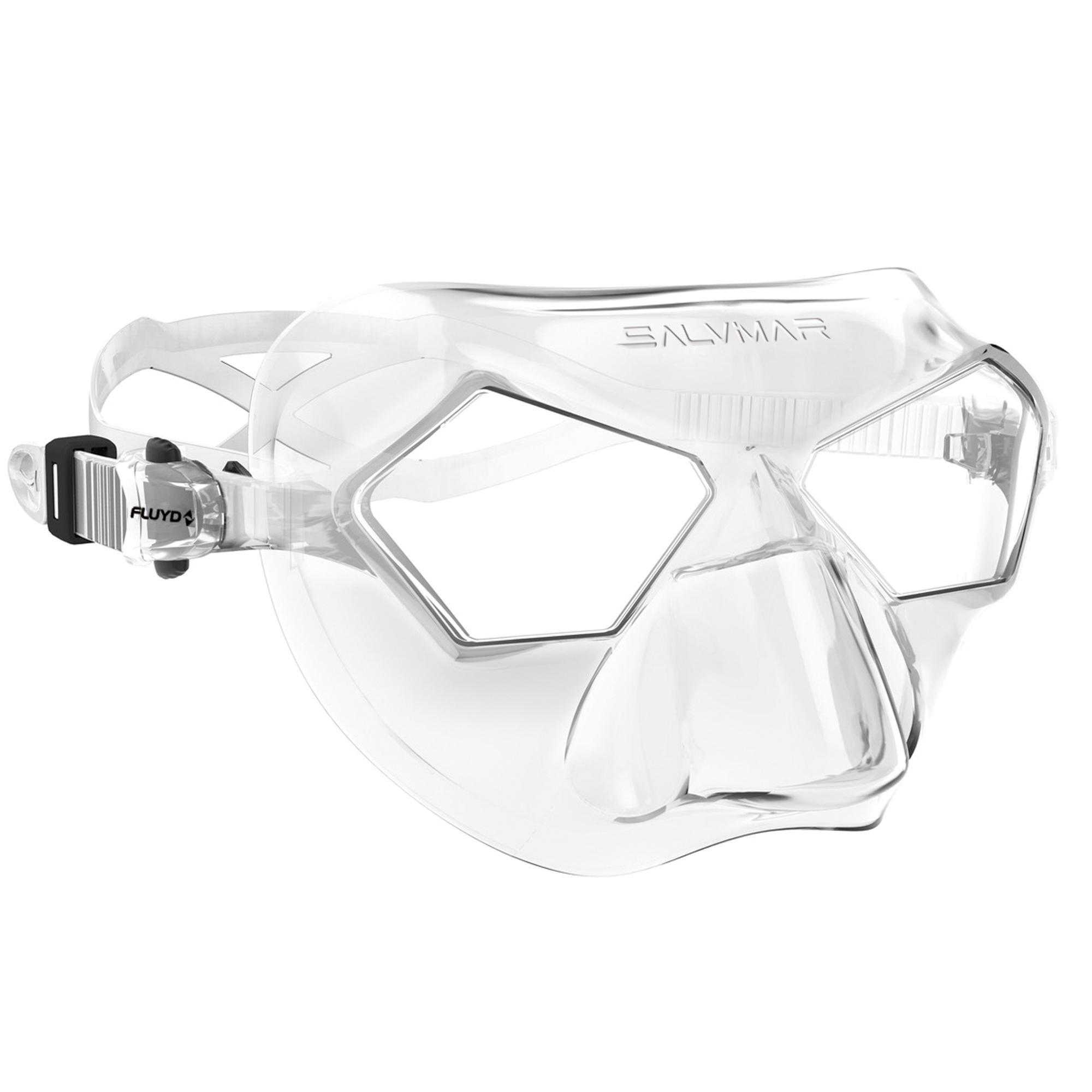 salvimar maschera apnea/pesca subacquea incredibile trasparente