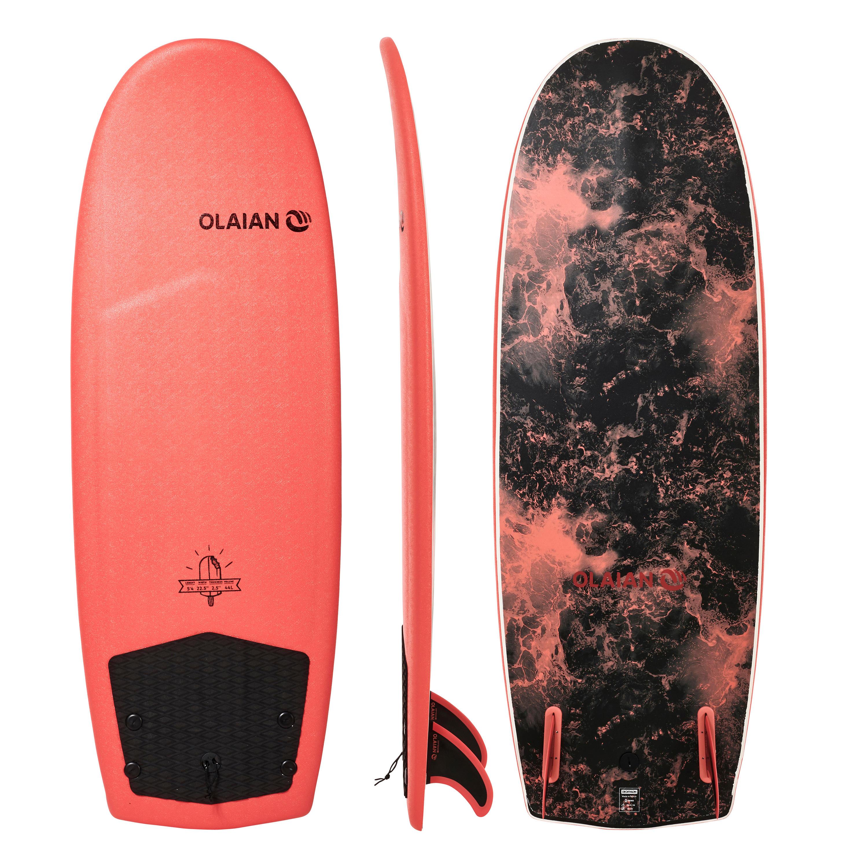 olaian tavola surf 900 5'4 con 2 pinne