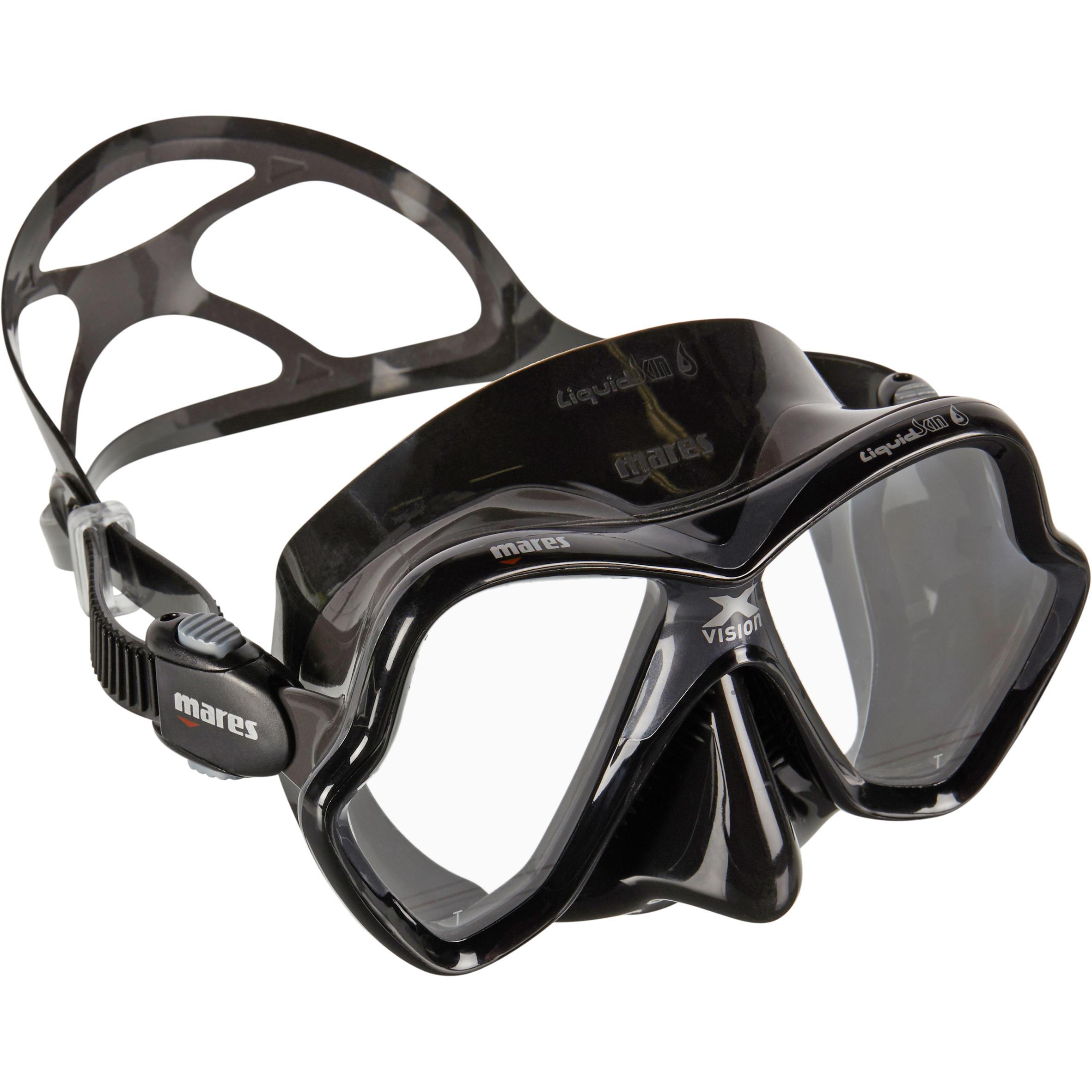 mares maschera subacquea x-vision liquid skin