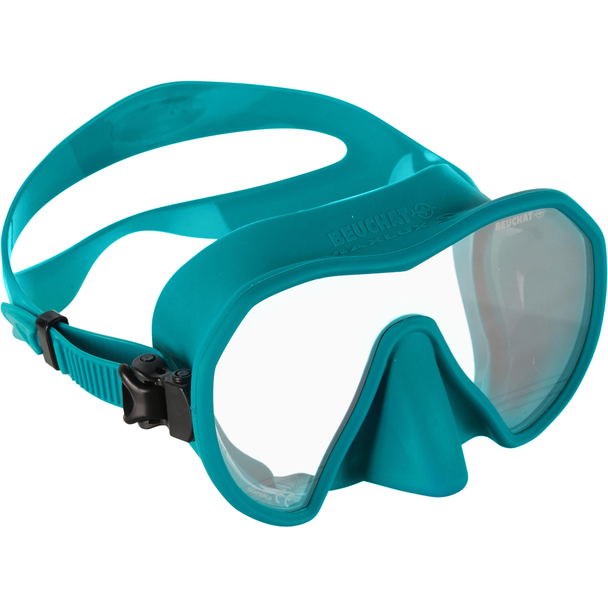 beuchat maschera subacquea maxlux s