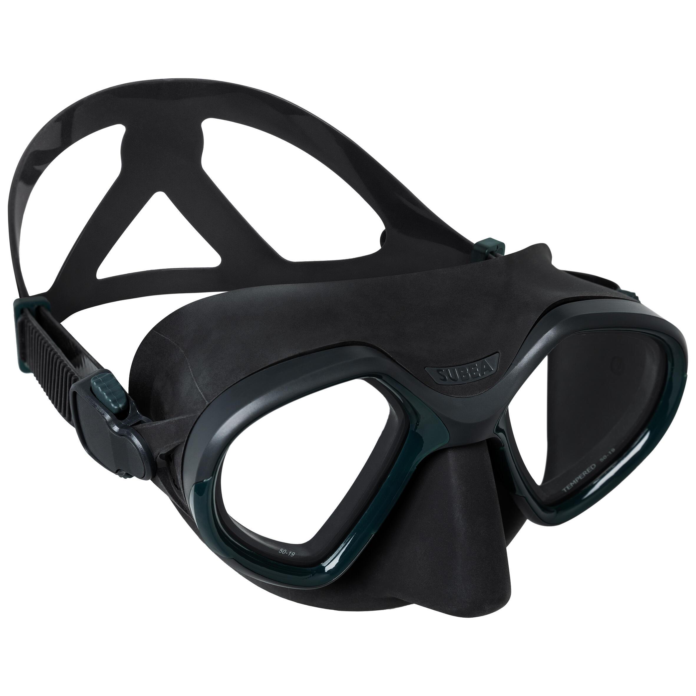 subea maschera pesca subacquea 500