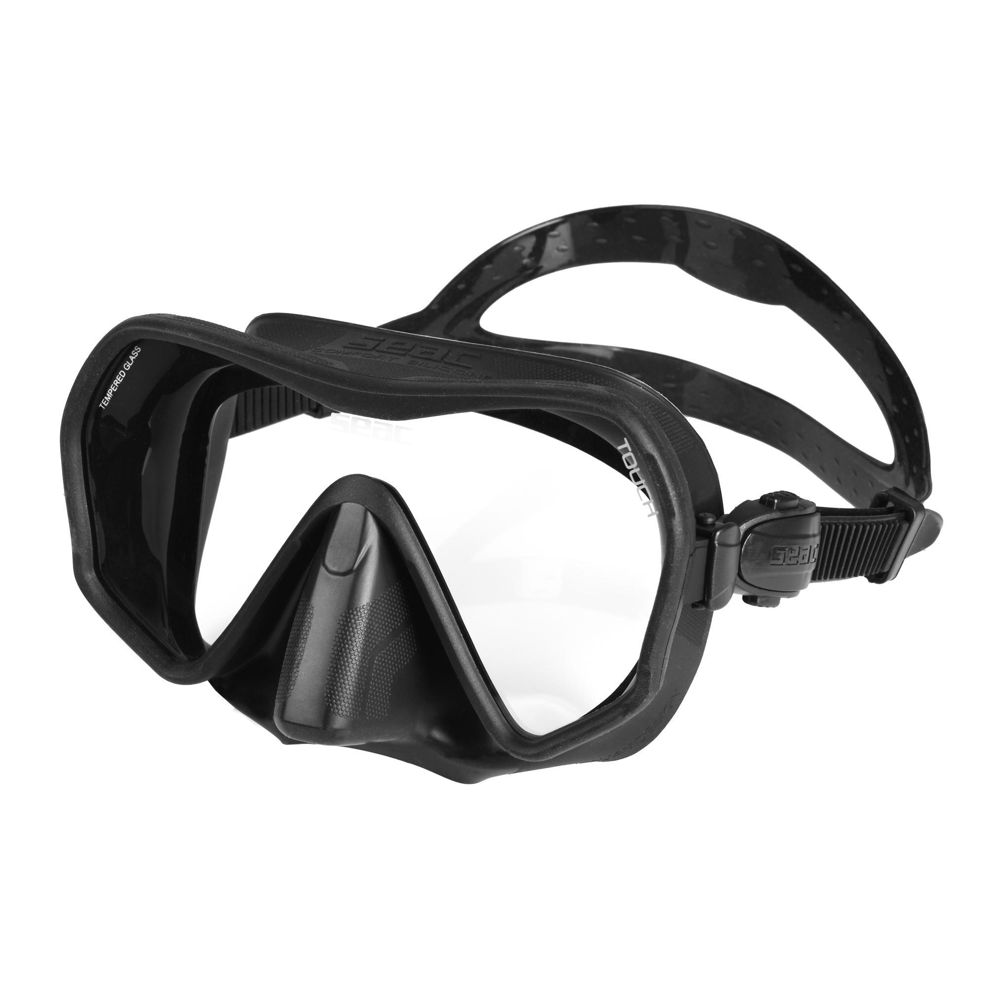 seac maschera  touch per immersioni subacquee