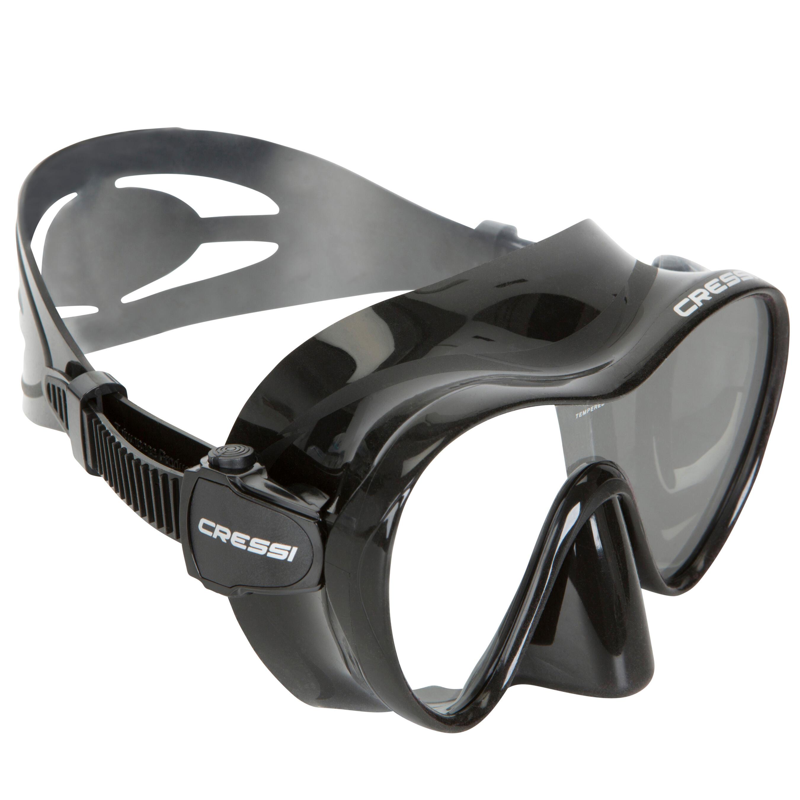 cressi maschera subacquea f1