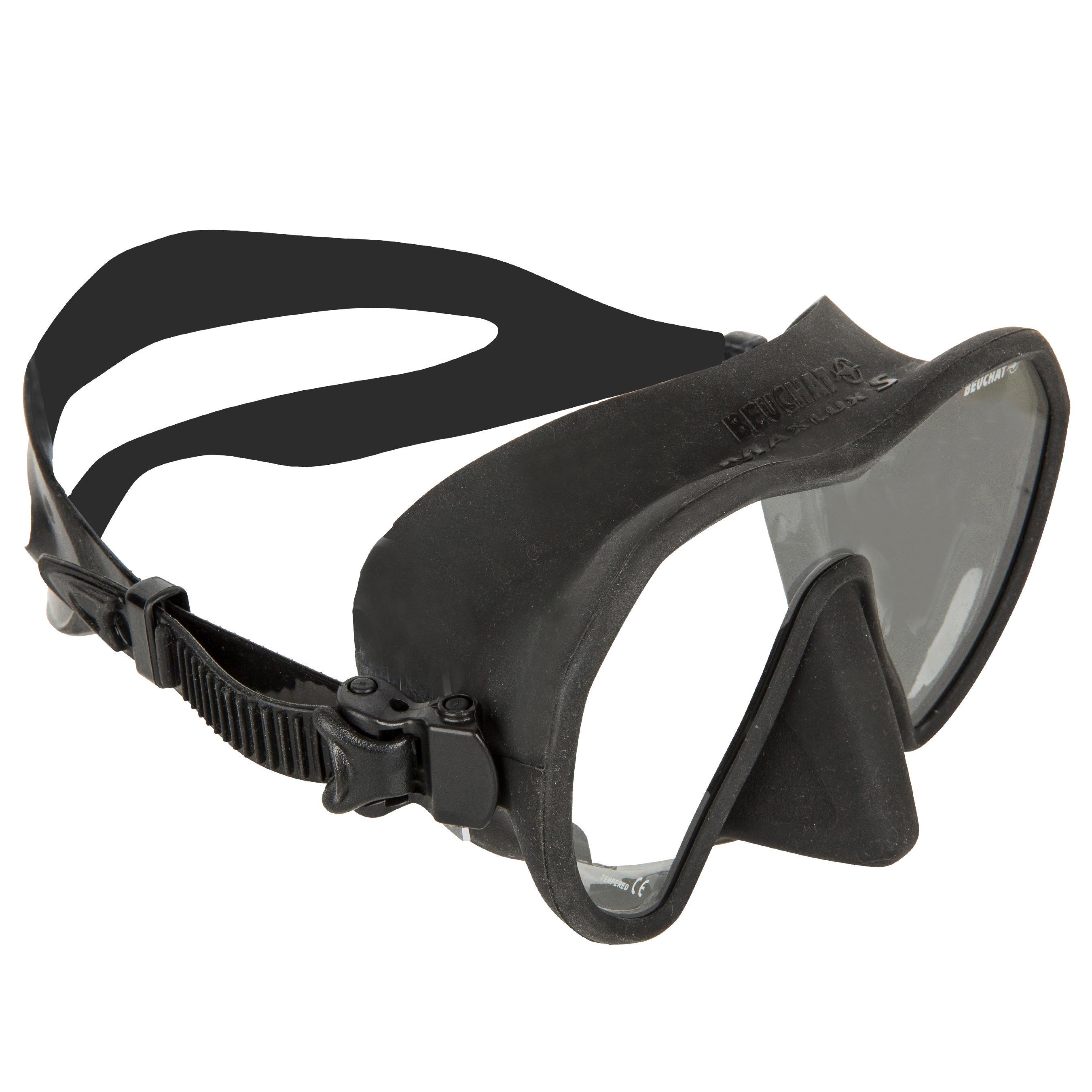 beuchat maschera pesca subacquea apnea maxlux