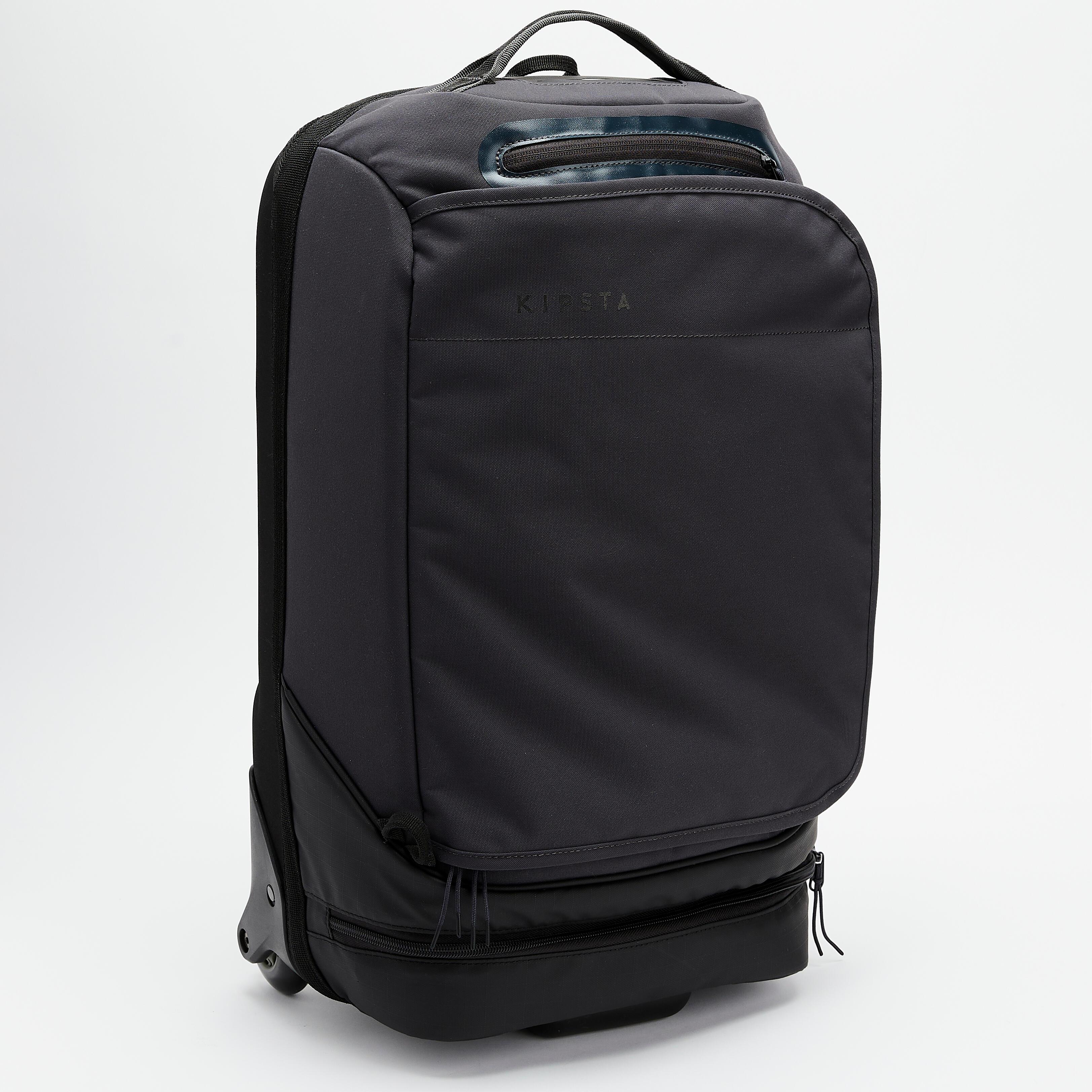 KIPSTA Trolley INTENSIF 30L nero-grigio