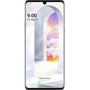 LG Velvet 5G (128GB + 6GB, Single Sim, Aurora White)