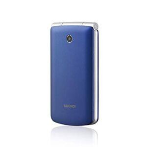 Brondi Magnum 3 Telefono Cellulare, Tastiera Fisica, Blu/Viola