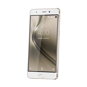Krger & Matz km0439Smartphone 12,7cm (5pollici), 32GB, Fotocamera 13MP, Android Marshmallow, LTE, impronte digitali Scanner bianco/oro