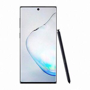 "Samsung Galaxy Note10 Smartphone, Display 6.3"" Dynamic AMOLED, 256 GB Espandibili, SPen Air Action, RAM 8 GB, Batteria 3.500 mAh, 4G, Dual SIM, Android 9 Pie, Nero (Aura Black)"