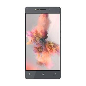 Echo Holi Smartphone, Dual-SIM, Memoria Interna da 8 GB, Grigio