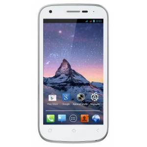 Wiko Cink Peax 2 Smartphone, Android 4.1.2 Jelly Bean, Bianco