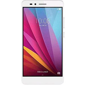 Honor 5X Smartphone, 5.5 Pollici, WiFi 802.11 b/g/n, Bluetooth 4.1, 1.5 GHz Octa-Core, Qualcomm, 2 GB RAM, 16 GB Memoria Interna, Fotocamera da 13 MP/5 MP, LTE, Android 5.1, Argento