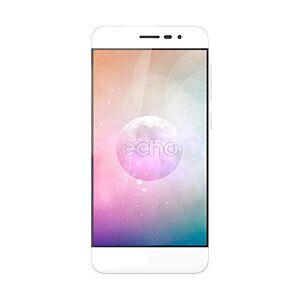 Echo Moon Smartphone, Dual-SIM, Memoria Interna da 16 GB, Bianco