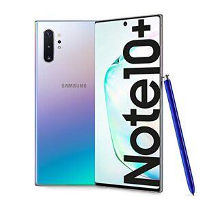 "Samsung Galaxy Note10+ Smartphone, Display 6.8"" Dynamic AMOLED, 256 GB Espandibili, SPen Air Action, RAM 12 GB, Batteria 4.300 mAh, 4G, Dual SIM, Android 9 Pie, Aura Glow"