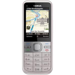 Nokia C5 Cellulare  (Display 5,6 cm (2,2 pollici), Fotocamera da 3,2 Megapixel ), colore: Rosa