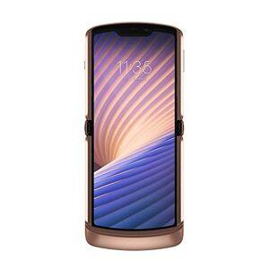 "Motorola RAZR 5G (display flessibile 6.2"", display esterno quick view 2.7"", 5G, fotocamera 48 MP, octa-core Qualcomm Snapdragon 765, 2800 mAH, Dual SIM, 8/256GB, Android 10), Blush Gold"