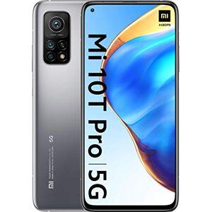 "Xiaomi Mi 10T Pro Smartphone 16.9 cm (6.67""), 8 GB + 256 GB, Dual SIM, 5G, USB Type-C, 5000 mAh, Argento (Lunar Silver)"