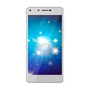 Echo Star Plus Smartphone, Dual-SIM, Memoria Interna da 16 GB, Argento