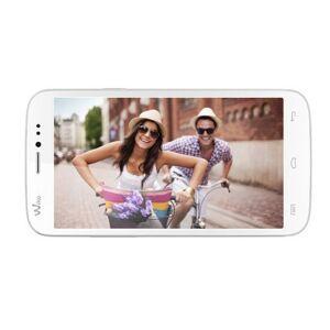 Wiko Darkside Smartphone, Dual SIM, Bianco Argento