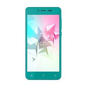 Echo Flow Smartphone, Dual-SIM, Memoria Interna da 8 GB, Verde